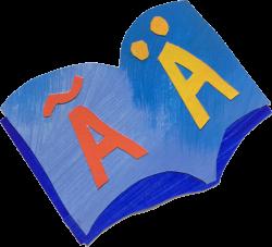 Buch Symbol Zweisprachigkeit