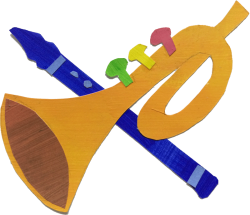 Trumpet and flute