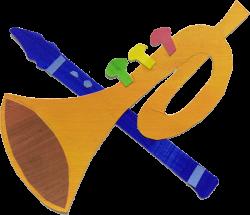 Trompete und Flöte